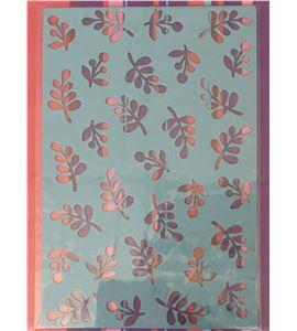 Plantilla de gofrado para bigshot - hojas - 18040001