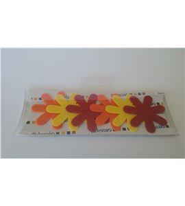 Fieltro set 6 flores - FE22JOR