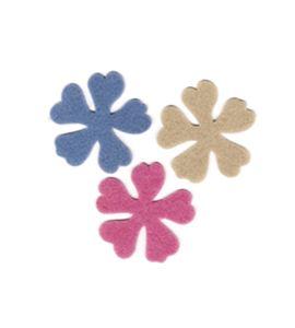 Fieltro set 6 flores - FE23WGN