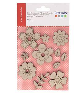 Accesorios decorativos de conglomerado - flores - 11060432