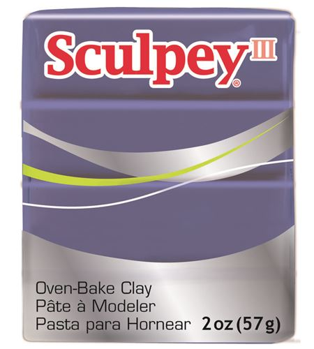 Sculpey iii - gentle plum 57gr. - 3355