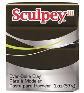 Sculpey iii - suede brown 57gr. - 31109