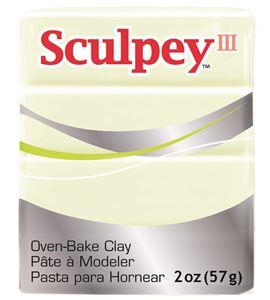 Sculpey iii - glow in the dark. - 31113