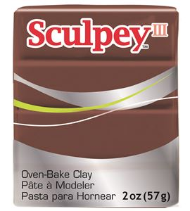 Sculpey iii - chocolate 57gr. - 3053
