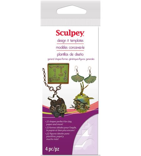 Material auxiliar sculpey - general shape template - AS2125