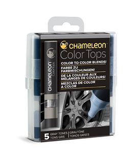 Chameleon color tops - tonos gray - CT4509