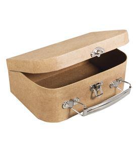 Maleta de cartón (papel maché) - pequeña - 67204000
