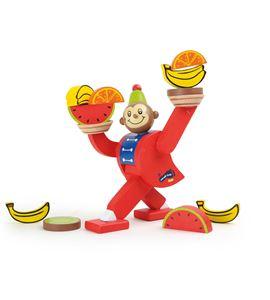 Juego de equilibrio, mono de circo - 10007