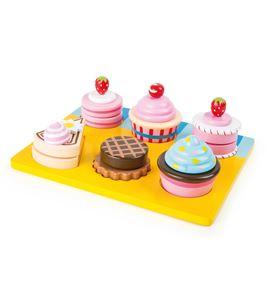 Aprende a cortar, cupcakes y pasteles - 10149