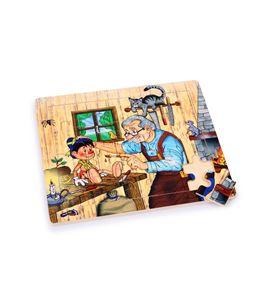 Puzle con marco, taller de geppetto - 6525