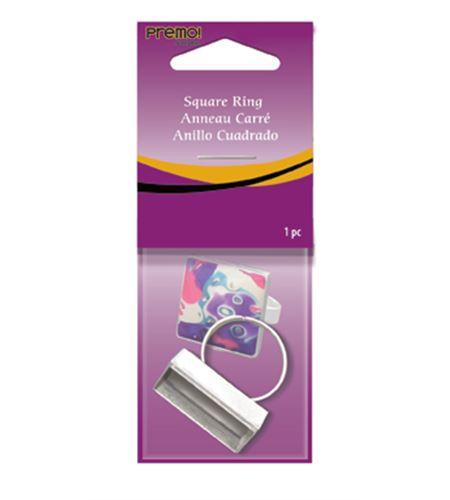 Soporte para bisutería - anillo cuadrado - ASFSQRING