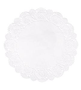 Set de papel de blonda - circular 21,5cm. - 68089102