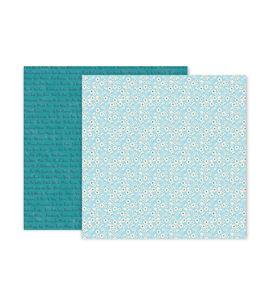 Hoja de papel de scrapbook - little flowers - 310693