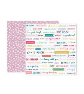 Hoja de papel de scrapbook - butterfly - 310707