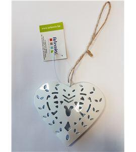 Corazón de metal para colgar - 14020042