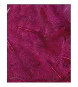 Plumas fantasía tipo plumón burdeos - 13030022