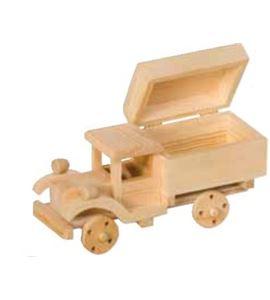 Hucha de madera camión - VICAM