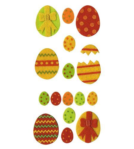 Fieltro set 9 huevos - 13070076
