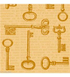 Papel de decoupage - llaves - 12003053