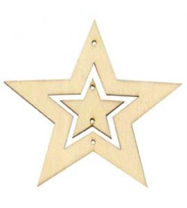 Kit de móvil de madera - estrellas - 14001442