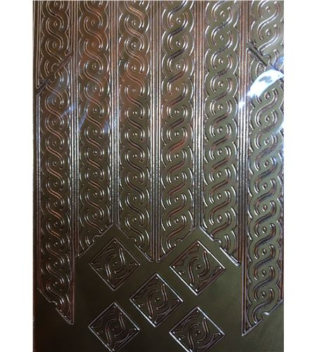 Adhesivos peel off´s - marcos oro - AC0080G