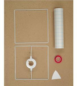 Pantalla para lámpara - cuadrada - 14020050