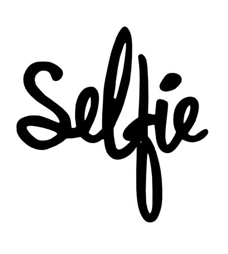 Troquel para sizzix - selfie - SELFIE