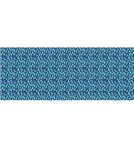 Set de papel de decoupage - rombos azul - 12003079