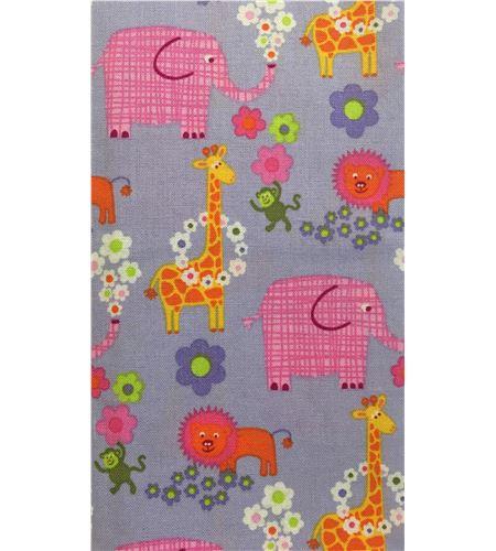 Tela de algodón - animales violeta - 13062002