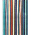 Tela de algodón - rayas multicolor azul