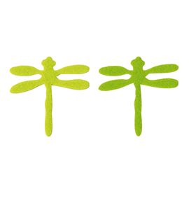 Fieltro 8 libélulas natura - FE26A01