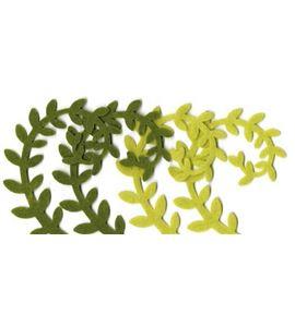 Fieltro set 4 hojas - FE77PL
