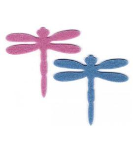 Fieltro set 8 libélulas - FE26NW