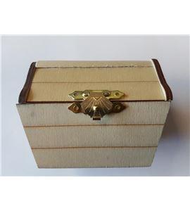 """Caja madera """"cofre del tesoro"""" - 14001613"""