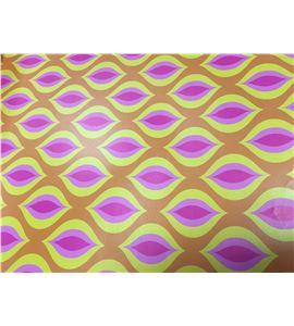 Hoja de papel retro labios 50 x 70cm. - 12001029