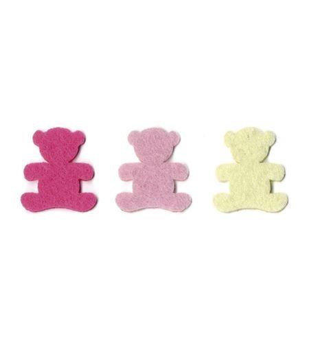 Fieltro 20 osos niña - FE118A01