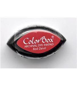 Tampón de tinta cat´s eye archival - red devil - CL27105