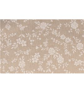 Tela de algodón - flores - 13020107