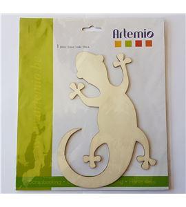 "Silueta madera ""salamandra"" - 14001255"