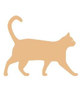 "Silueta madera ""gato"" - 14001265"