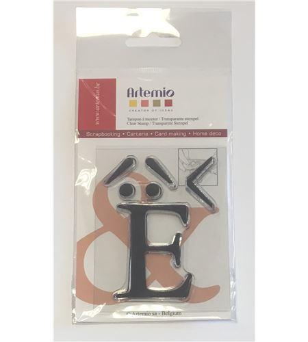 Sello de silicona - letra e - 10001111