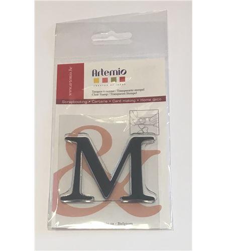 Sello de silicona - letra m - 10001119