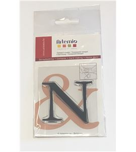 Sello de silicona - letra n - 10001120