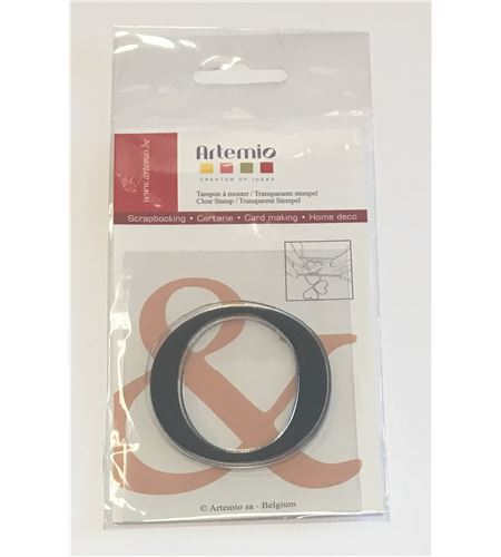 Sello de silicona - letra o - 10001121