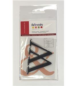 Sello de silicona - letra w - 10001129