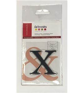 Sello de silicona - letra x - 10001130