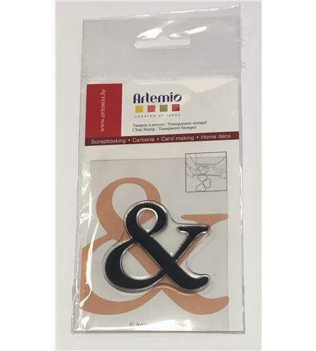 Sello de silicona - letra & - 10001133