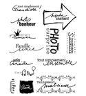 Set de sellos transparentes fotografía