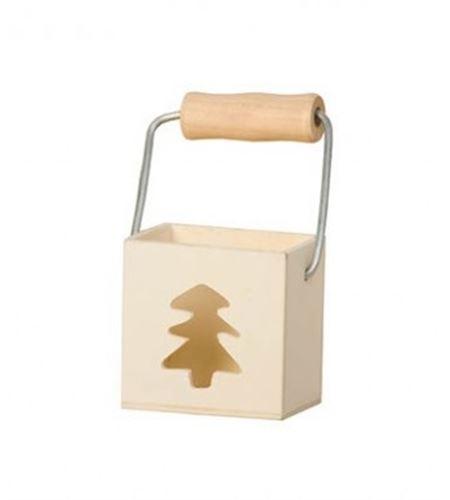 Cajita de madera árbol - VIPAC02