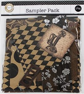 Set de scrapbooking deluxe - dark - SMP2098